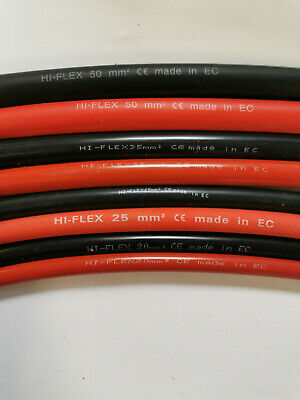 Flexible Battery Cable 10mm 70amp 16mm 110amp 12v starter Wire Automotive