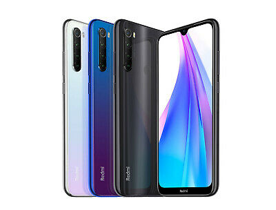 "Xiaomi Redmi Note 8 64GB 4GB RAM (FACTORY UNLOCKED) 6.3"" Dual-SIM 48MP (Global)"