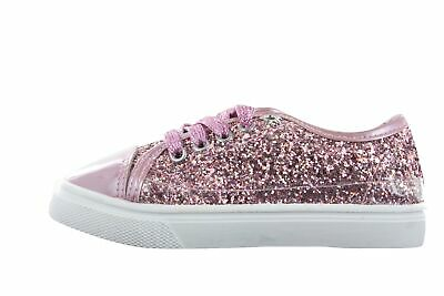 """BUCKLE MY SHOE /""""Papayo/"""" Pink Sparkly Canvas Pump Sizes 6 Through to 12 *NEW*"""