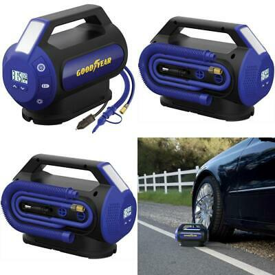 Digital Dual Flow Tire Inflator And Air Compressor, 6-Minutes Flat To Full
