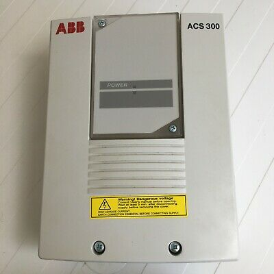 Abb Acs300 Frequency Drive. Complete With Control Panel