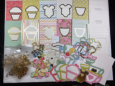 Anna Griffin Well Wishes Shaker Card Making Get Well Baby Birthday Cards #113