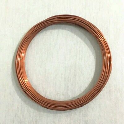 3-5mm Thick Copper Wire Coil Wirework Tiara DIY Jewellery Making Sold Multisize