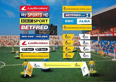 Self Adhesive Adverts for Latest Subbuteo Fence Surround