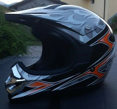 Casco Moto Cross Bambino ONE Bad Bully Blu