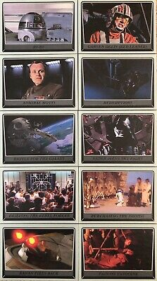 Star Wars Topps Rogue One Mission Briefing Grey / Gray Parallel Cards #100 x 10