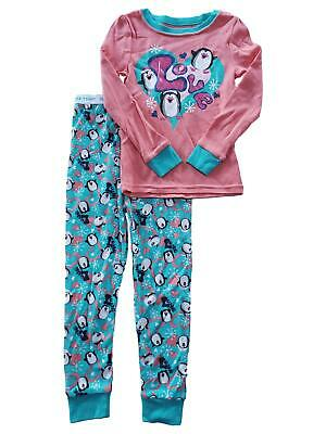 Details about  /NWT Girls Christmas Pajamas size 18 mths 2 piece Glitter  Making Spirits Bright