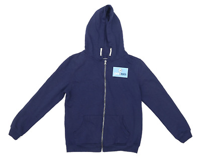 Primark Boys Blue Zip Up Hoodie Age 12-13
