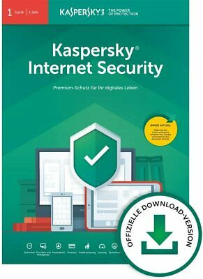 Kaspersky Internet Security 2020 Standard 1PC / Gerät | 1 Jahr | Win/Mac/Android