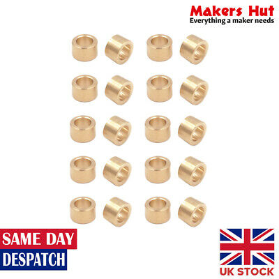 5mmx8mmx5mm Self-lubricating Oilless Bearing Sleeve 20pcs Bronze Bushings
