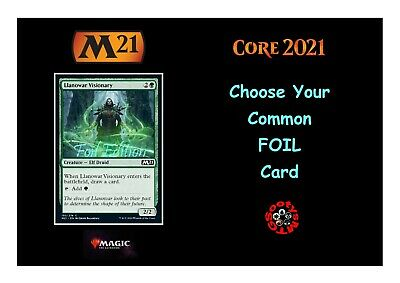 MTG Core Set 2021 Mythic //// Rare FOIL Choose Your Card Magic the Gathering