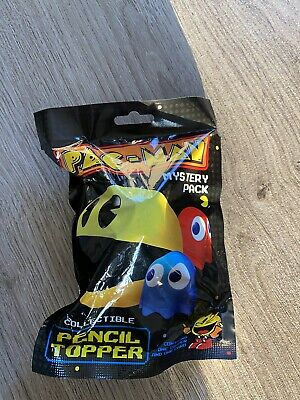 Pac-Man Pacman Mystery Collectible Pencil Topper Series 1 Blind Bag Bandai