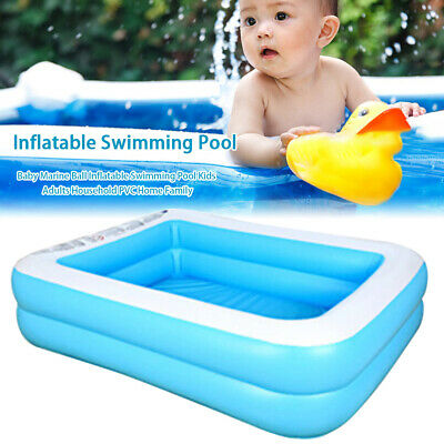 Large Swimming Pool Family Garden Outdoor Summer Inflatable Kids Paddling Pools