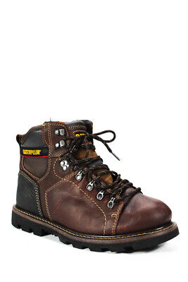 Caterpillar Boots Mens Hoxton Leather Shoes Brown P717830 Black P717828