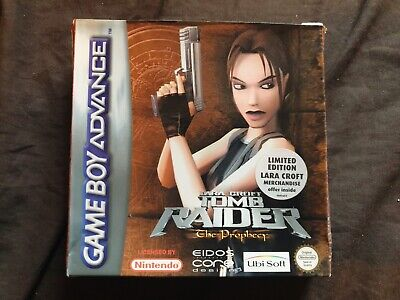 TOMB RAIDER THE PROPHECY Nintendo Game Boy Advance Game BOX ONLY