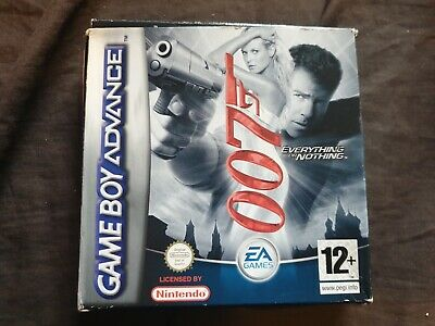 007 EVERYTHING OR NOTHING Nintendo Game Boy Advance Game BOX ONLY