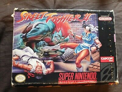 STREET FIGHTER II Super Nintendo SNES Game NTSC BOX ONLY