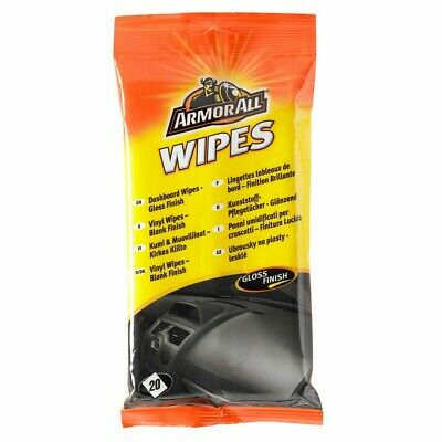 ArmorAll Car Wipes Glass Leather Dashboard Auto Motor Cleaning Cloth Armor All