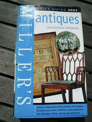 "/""VERY GOOD/"" Miller/'s Antiques Price Guide 2002 Miller/'s Norfolk Elizabeth B"