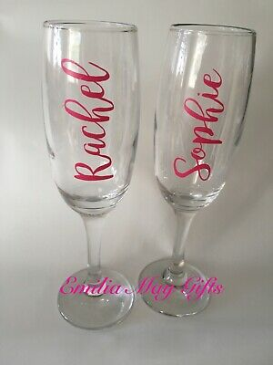 PROM 2019 Personalised Vinyl Decal for WINE GLASS or MUG