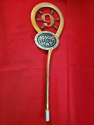 """Brand New In Box! Magic Hat Brewing #9 Pale Ale Beer Tap Handle 15"""" Tall"""