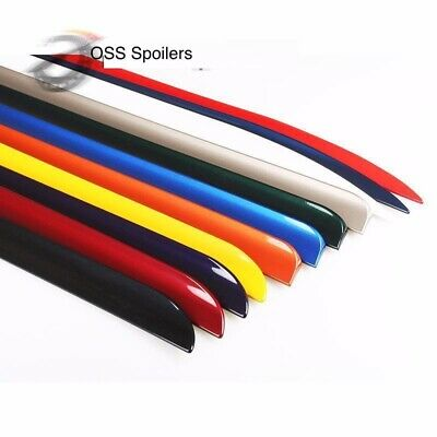 PAINTED BMW E90 SALOON 4 DOOR M4 Style REAR BOOT SPOILER WING TIRM UK SELLER