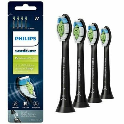Philips Sonicare Diamond Clean Replacement Toothbrush Heads HX6064/95 BLACK