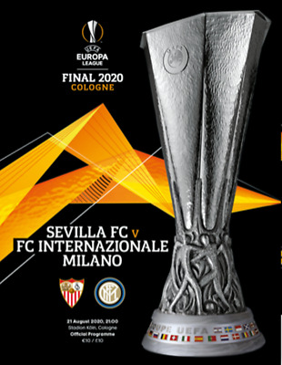 uefa europa league final 2020 inter milan v sevilla programme free poster 11 99 picclick uk uefa europa league final 2020 inter