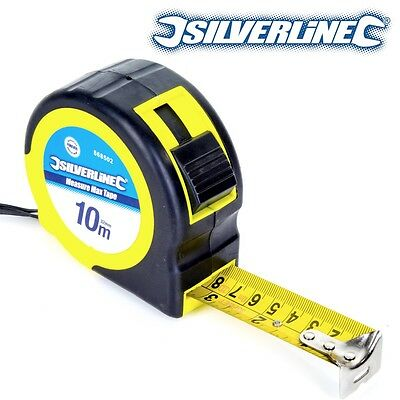 TAPE MEASURE HEAVY DUTY INDUSTRIAL TAPE BLADE RECOIL PULL BLADE CLIP TAP 5M //10M