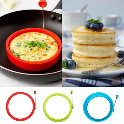 Silicone Egg Ring, easy to use in 4 colours Good Quality and Value (UK SELLER)