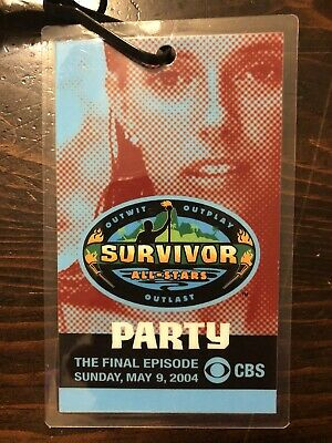 Survivor: All-Stars Party Pass w/ Amber Brkich pictured