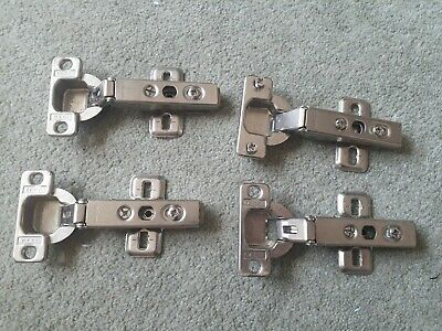 4 X Ikea Kitchen Cupboard Hinges