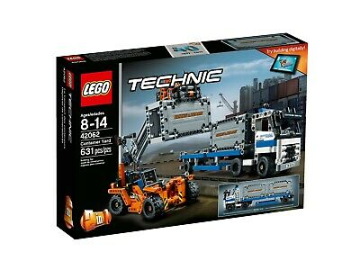 LEGO TECHNIC 42062 Container Yard NISB New /& Sealed