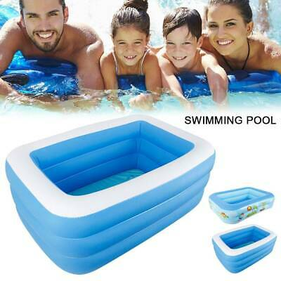 Large Swimming Pool Family Garden Outdoor Inflatable Kids Child Padding Pools