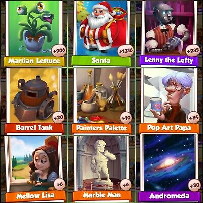 9 Rare Cards ###  Coin Master  Cards Fastest Delivery