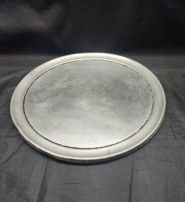 "Lot of 2 American Metalcraft TP14 14"" Wide Rim Pizza Pan"