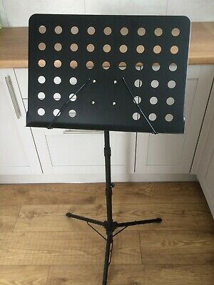 Heavy Duty Orchestral Lectern, Conductor, Sheet Music Stand Holder Tripod