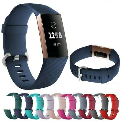 For Fitbit Charge 3 Straps Wristband  Wrist Watch Band Replacement Accessor UK
