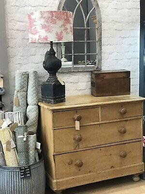 Antique Victorian Pine Chest Of Drawers