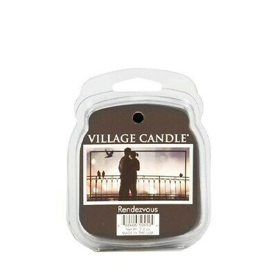 Village Candle Rendezvous Wax Melt / Tart FREE P&P
