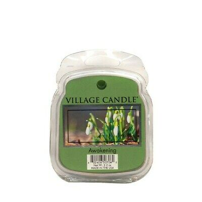 Village Candle Awakening Wax Melt / Tart FREE P&P