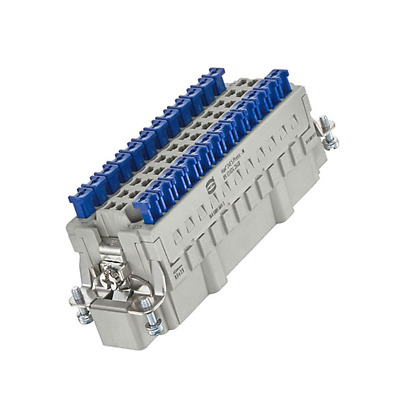 09330242648 Connector: rectangular male Han ES Press PIN: 24 24+PE 16A HARTING
