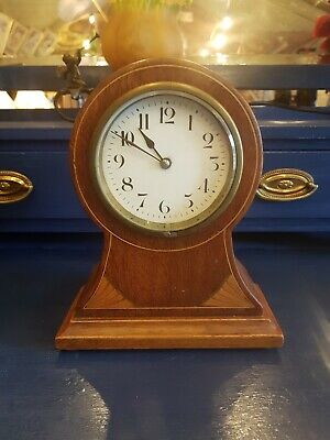 Japy Freres Edwardian Balloon Mantle Clock