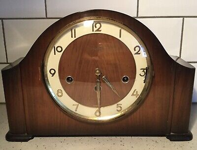 Bentima Mantle 8 Day Clock, 3 Chimes, Westminster, Whittington, St. Michael