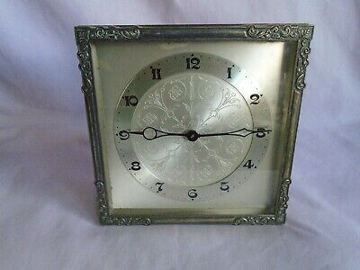 Antique Strut Mantel Clock By 'Hac' Working At Times