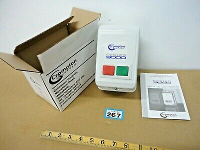 Brook Crompton Controls Series 3000 Direct On Line Starter 3DL 1EZS 400VOLT
