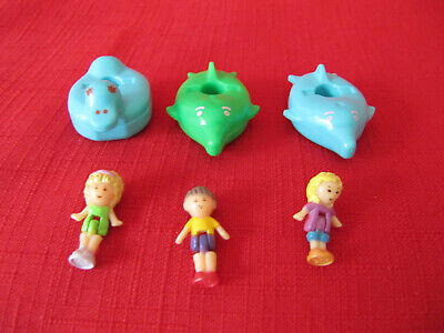 Vintage Bluebird Polly Pocket 1990 Soap Dish Polly Replacement Figure