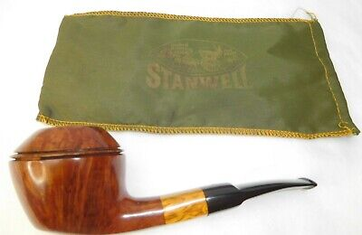 Beautiful Stanwell Buffalo Large Bulldog #189 w pouch - Excellent Condition