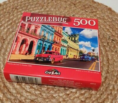 500 Pieces Puzzle Bug Cuba Puzzle By Cra Z Art Colorful Old Town in Havana