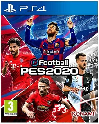 eFootball PES 2020 (PS4)  BRAND NEW AND SEALED - IN STOCK - QUICK DISPATCH
